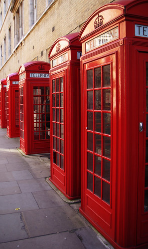 London_phone_boxes | by Cauthon