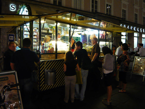 Buying Bratwurst at night | by raph.v
