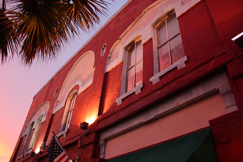 street old sunset house building tree history river store center palm historic historical fernandina 1882 canon1855mmf3556