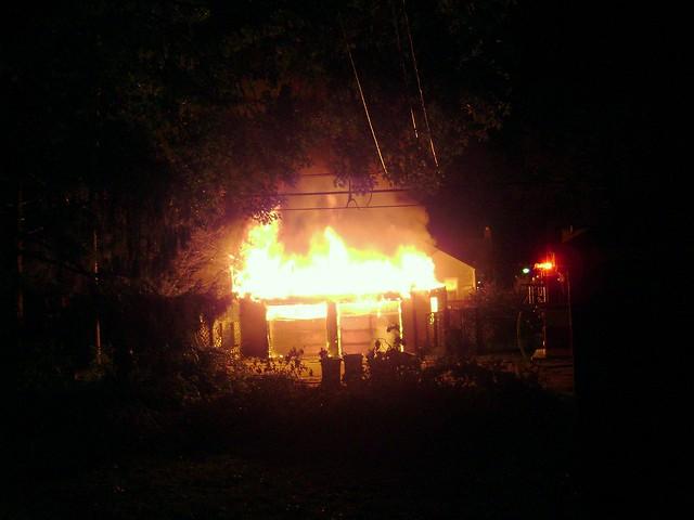 Burning Garage 4