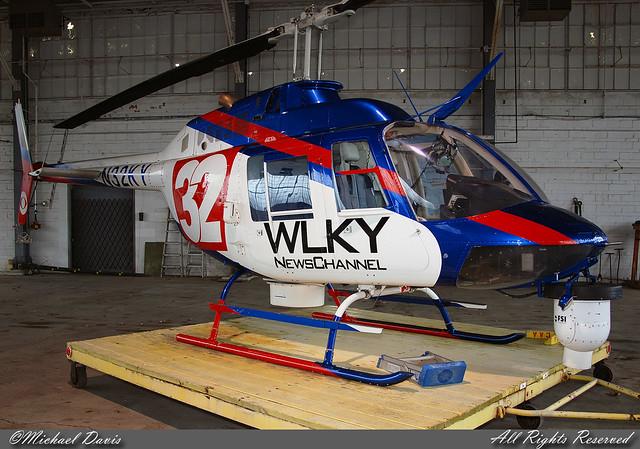 Wlky Newschannel 32 Bell 206b Jetranger N32ky Tv Station Flickr