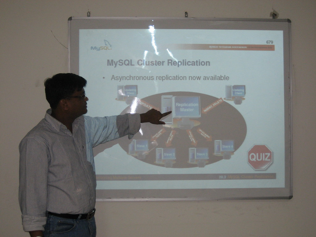 MySQL Remote DBA training by Rakesh Kumar, OSSCube