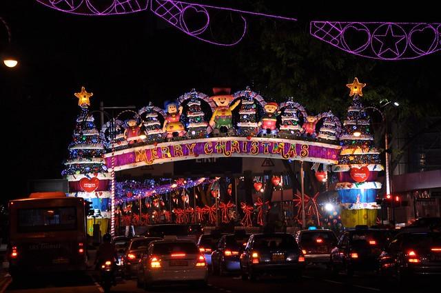 Singapore Christmas Light Display