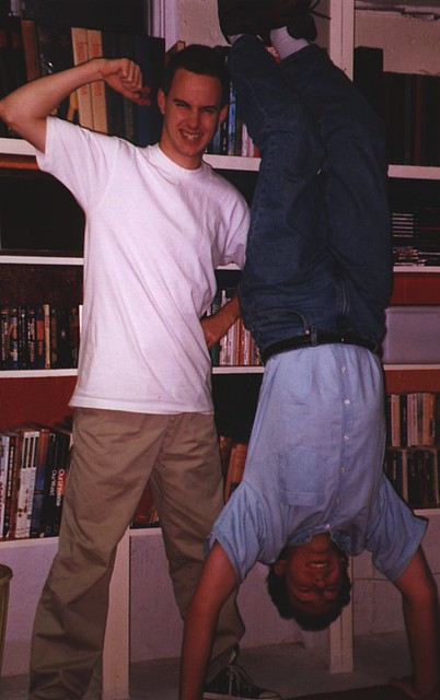 Scott and Aaron