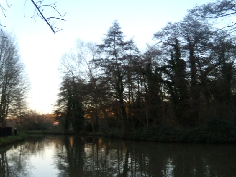 Nearing Guildford Guildford Circular