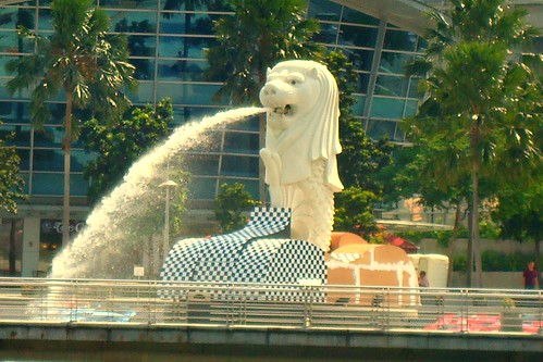 Merlion Singapore ~ . '鱼 尾 狮 | by linkway88