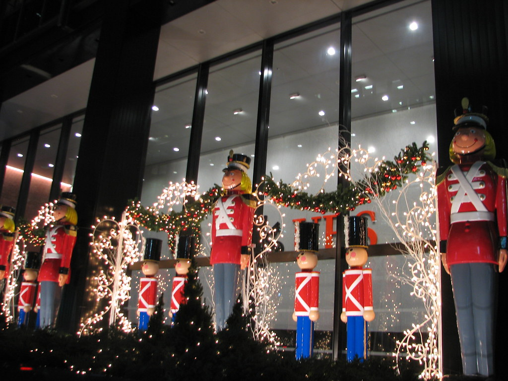 Toy Soldiers Christmas Decorations New York City Ny 6