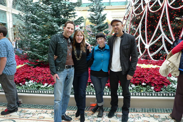 me, Jess, Selena and Carlos