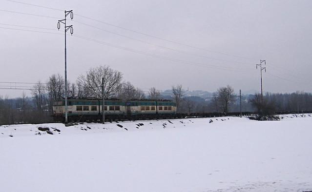 Doppia di E655 a Roccagrimalda