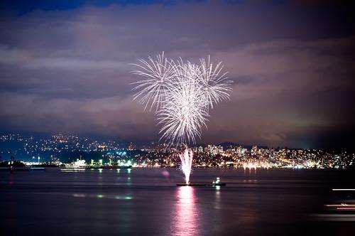 Fireworks in Coal Harbor | by Matzuda