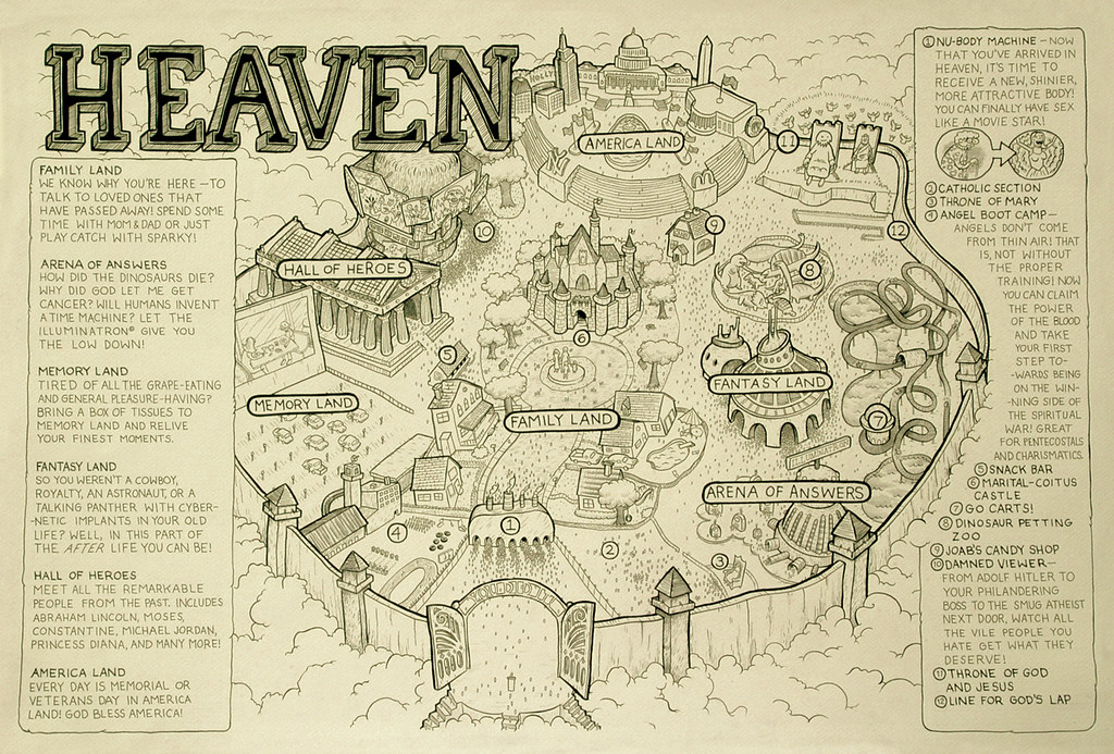 Map Of Heaven map of heaven | Charlie Gower | Flickr