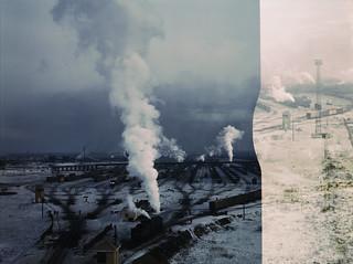 Jack Delano: Proviso hump yard, Chicago & Northwestern Railroad, Chicago, Illinois, 1942