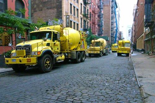 Cement Trucks