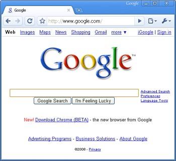 Google Chrome Mac Version    sort of  | The evil geniuses at