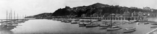 Boat harbour, Oriental Bay, Wellington, 1923