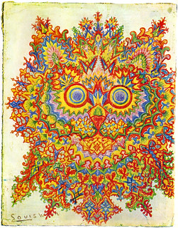 Drawing by Louis Wain | by sarcoptiform