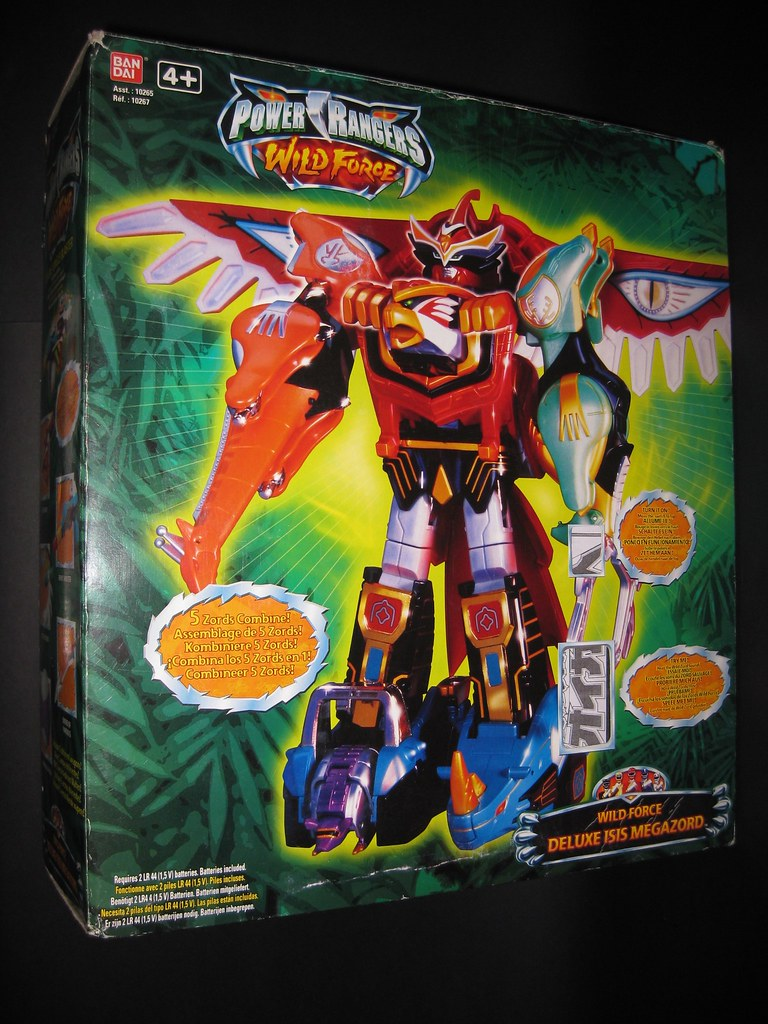 Power Rangers Wild Force Deluxe Isis Megazord | Desmond Yeo | Flickr