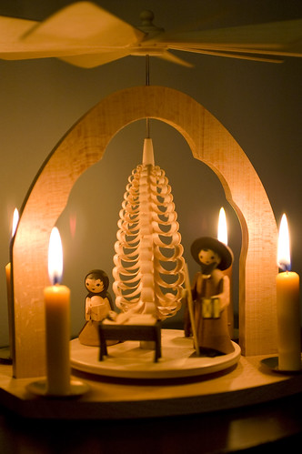 Nativity Christmas Candle Pyramid | by jrcraft