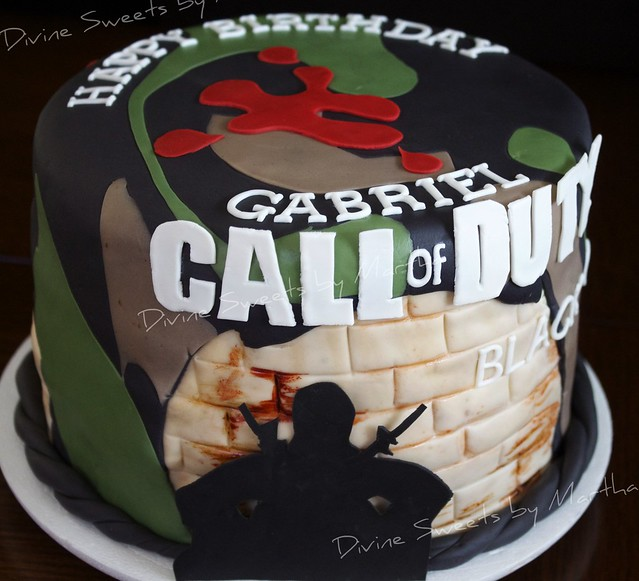 CALL of DUTY CAKE: COD front