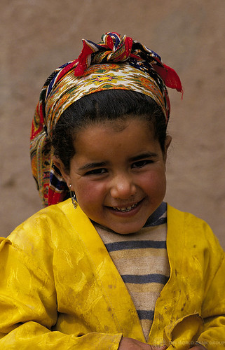 Portrait of young smiling girl. Morocco | by World Bank Photo Collection