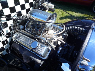 Checkered Hotrod