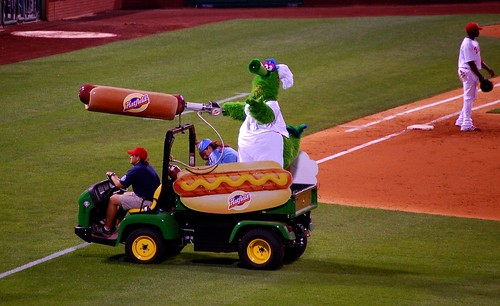 Phanatic and the Hatfield Hotdog Launcher   by qparker71 (Brian Kennedy)
