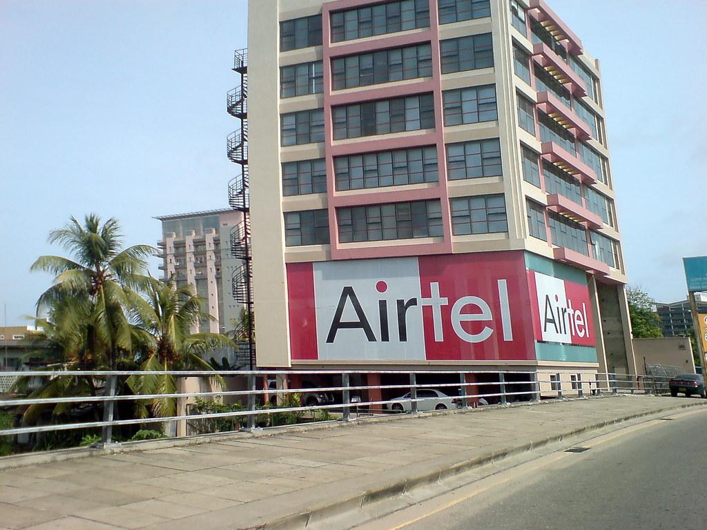 Welcome Airtel to Sri Lanka   Airtel Building at Baseline