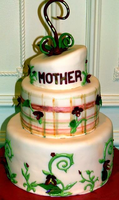 Irish Eyes Birthday Cake