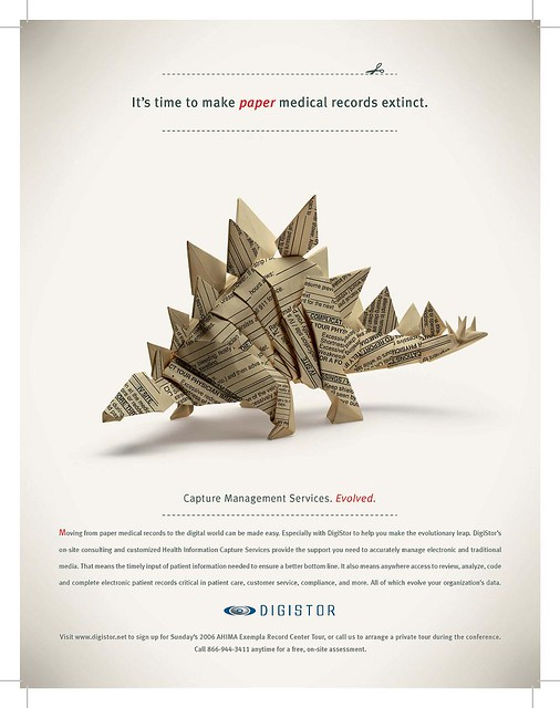 Digistor Extinction Ad Stegosaurus A Series Of Ads For A Flickr