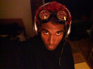 steampunk brainwave goggles