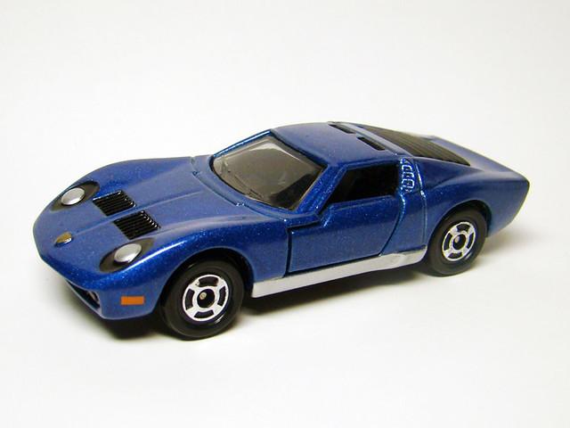 Tomica Lamborghini Miura Sv Loose Mint From Boxset Flickr