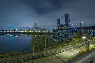 Steel Bridge PDX Downtown | by ttstam