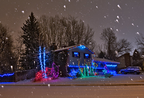 Christmas With the Snow! | by Fort Photo