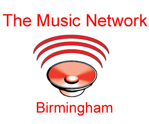 The Music Network, Birmingham, LOGO white and red | by Iron Man Records