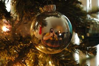 Self Portrait Christmas Ball