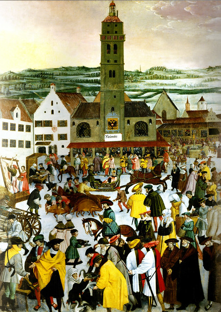 Augsburger Monatsbilder von 1531 - November