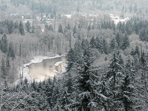 snow water forest woodland river landscape washington lewis wa lewisriver canons3