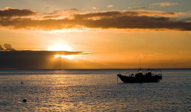 coucher de soleil-Martinique