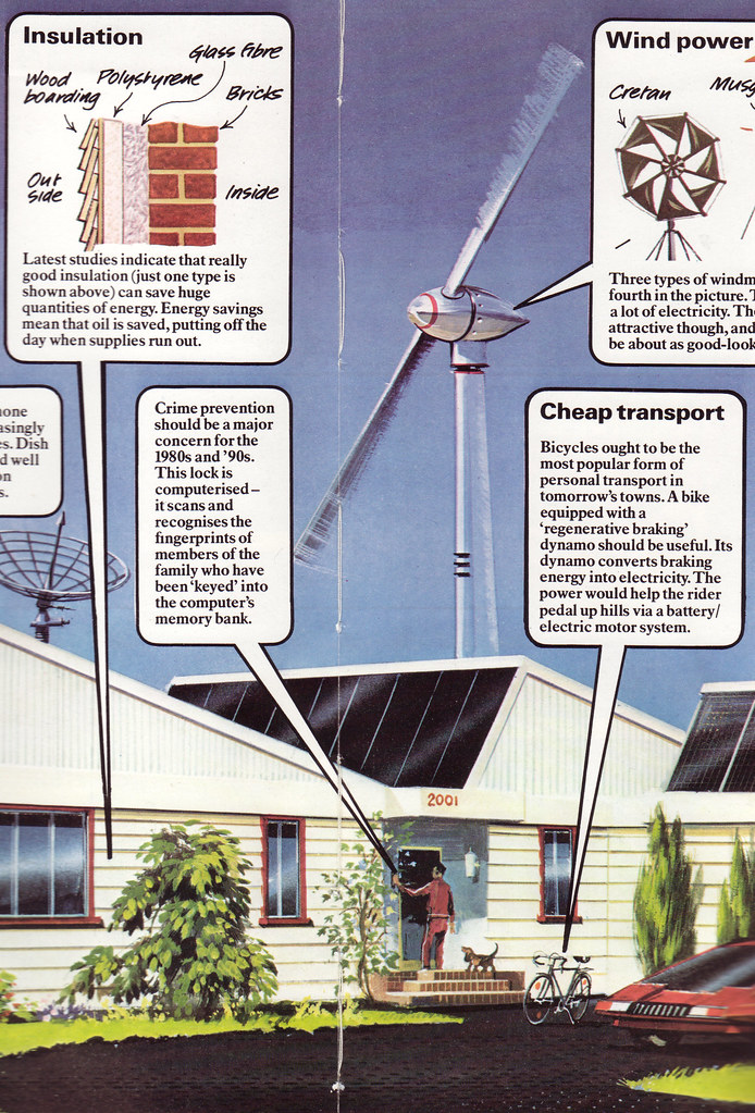 In 2001, we'll all have solar-heated, solar-powered homes
