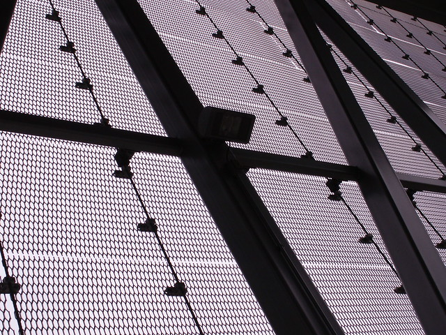 aerial tram station walls