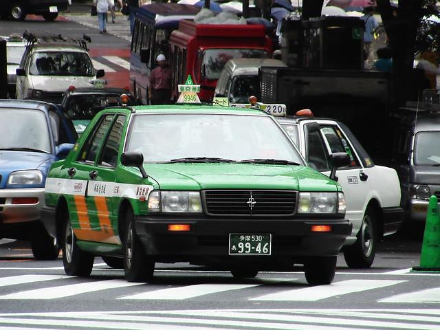 Toyko taxi