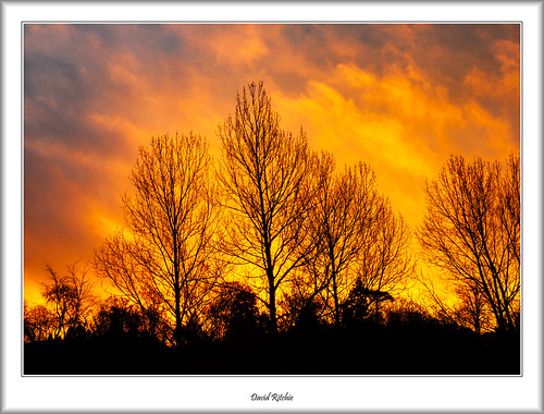 autumn sunrise scotland bearsden kilmardinny
