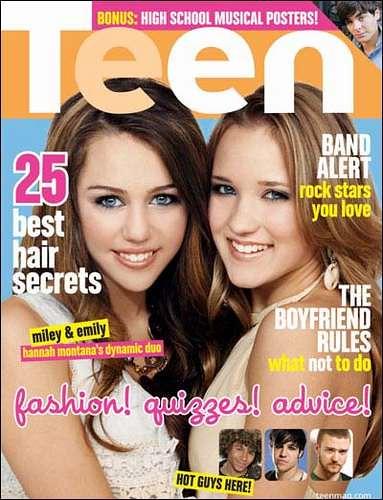 Cyrus Emily Osment Teen