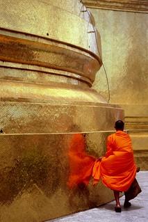 Thailand - Bangkok - Grand Palace Monk | by Darrell Godliman