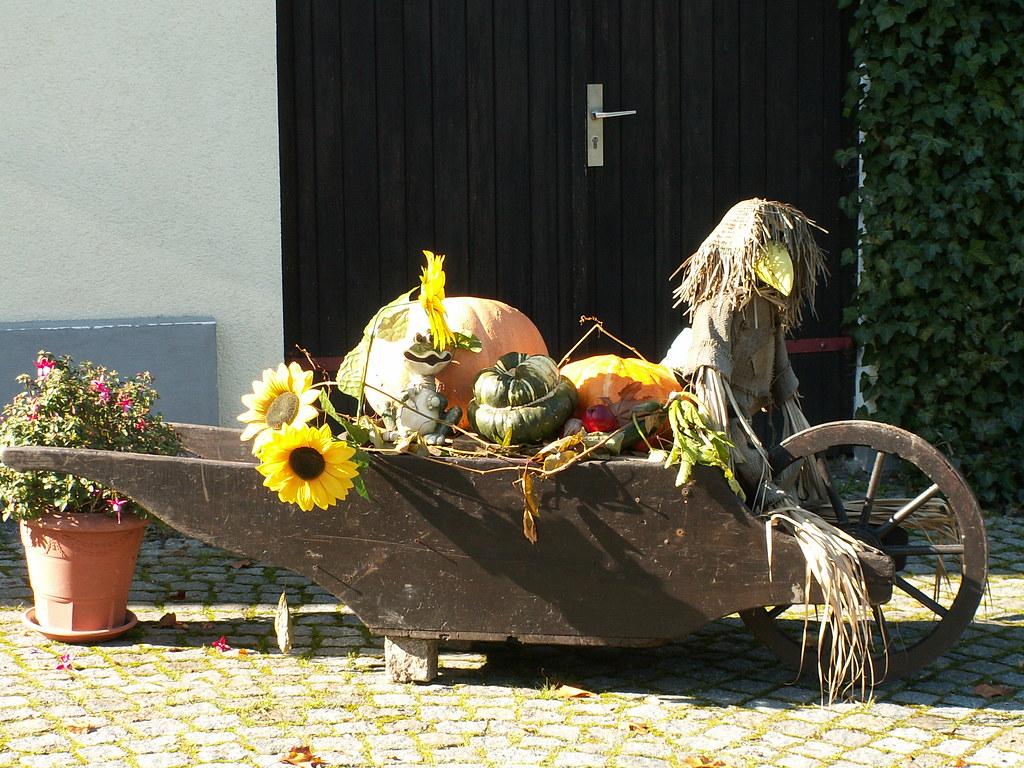 Ich denke an all das Schöne, die große Illusion, der Täuschung Meistertöne, ein jeder kennt sie schon, die Schubkarre in Taubenheim 097