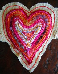 WINGED HEART COUCHED EMBROIDERY | by peregrine blue