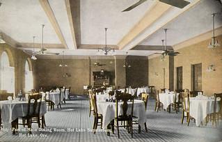 Main Dining Room, Hot Lake Sanatorium