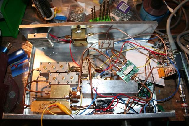 13 cm transverter under test | The 2400 MHz transverter when… | Flickr