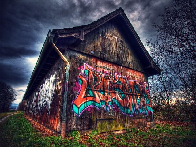The Graffiti House