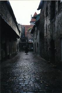 Alley in Prague